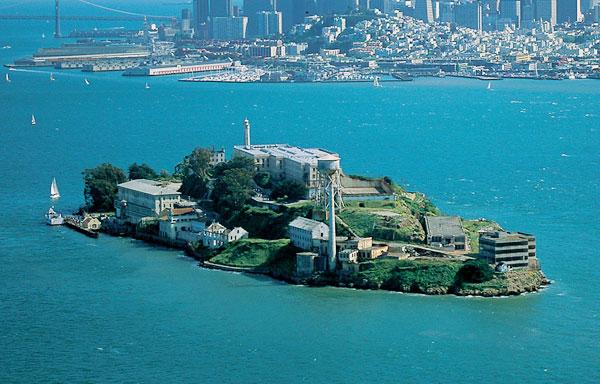 Alcatraz Island at Castro Valley