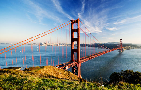 Golden Gate Bridge at California