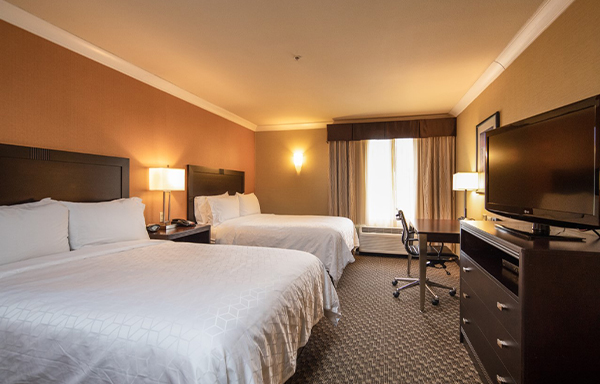 Holiday Inn Express Castro Valley Double Queen Room