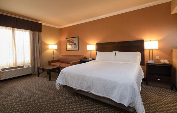 Holiday Inn Express Castro Valley Executive King Room