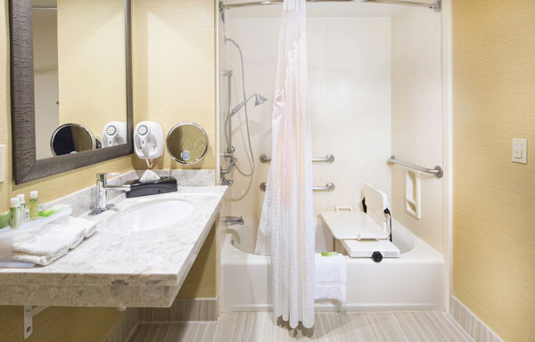 ADA Accessible King Room at Holiday Inn Express Castro Valley